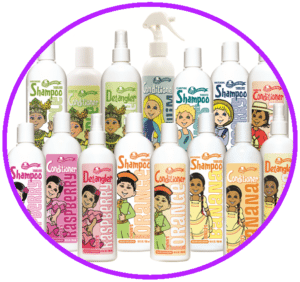 Hair Care Products - Rainbow Kids Hairstyling Kids Cuts, Barber Services