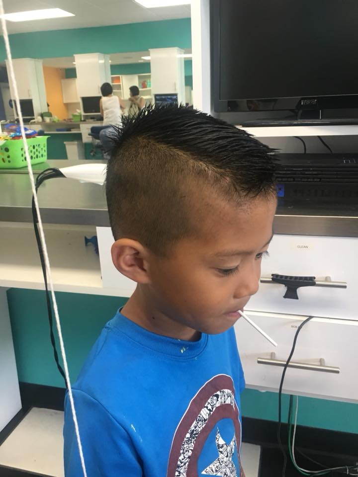Rainbow Kids Hairstyling Toddler Haircuts Kids Salon Barber Services